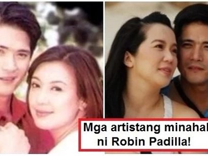 Matindi ang kamandag! 6 Pinay celebrities who fell in love with Robin Padilla before he got married to Mariel Rodriguez