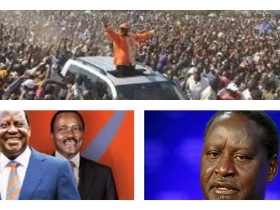KOT make fun of Raila and delivering Kenyans to Canaan
