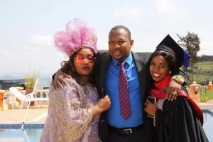 Pregnant Sonko's daughter shows off her big baby bump, reveals the sex (photos)