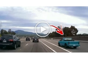 Watch this satisfying video of a really bad driver getting instant karma!