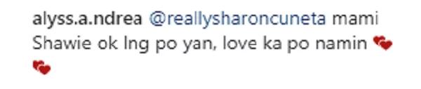 Na-insecure sa inaanak? Sharon Cuneta loses self-confidence because of Marian Rivera