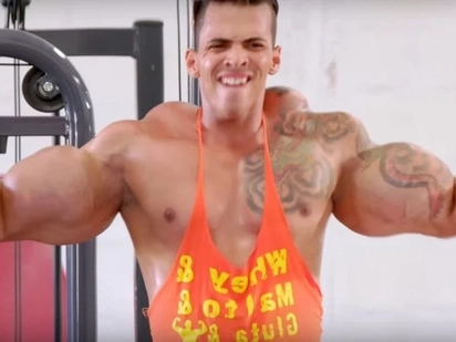 These Guys Risk Their Lives Injecting Their Body With Oil To Look Like Bodybuilders