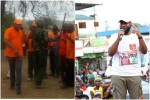 Outrage after GSU disrupt Joho's rally in Kinango