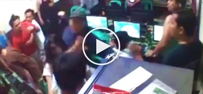 Violent Pinoys attack people, destroy property at computer shop in Muntinlupa City