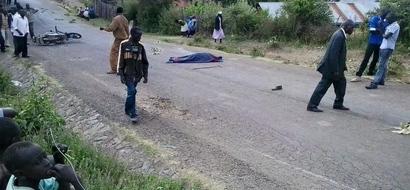 Bodaboda Accident Kills Elderly Man Instantly In Baringo