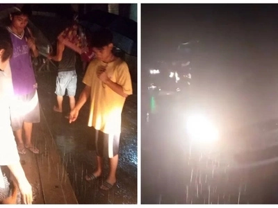 Buhay pa ang bayanihan! This Pinoy netizen is grateful to what these residents did when their car got stuck on a dirt road