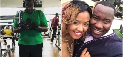 Super-talented TV presenter Willis Raburu and hot wife take their romance to the kitchen