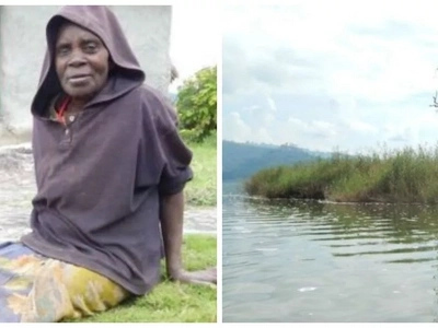 "Ugandan woman left to DIE on ""Punishment Island"" at age of 12 for getting pregnant (photos, video)"