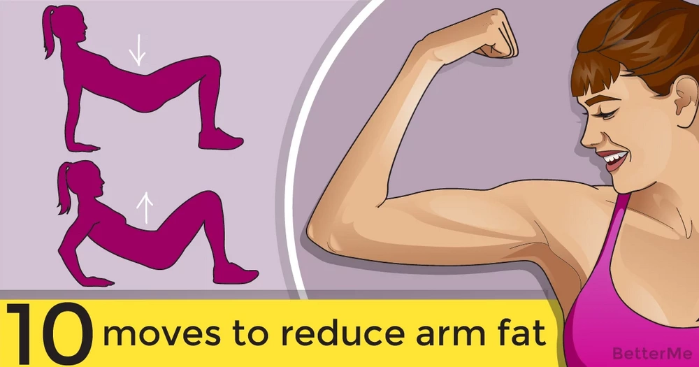 10 moves to reduce arm fat