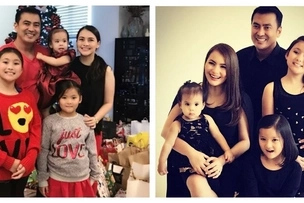 Meet their Tres Marias! Photos of Tanya Garcia and Mark Lapid's beautiful family