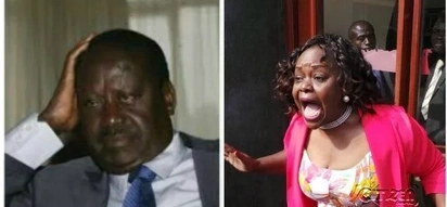 You must apologise to me, Millie Odhiambo told