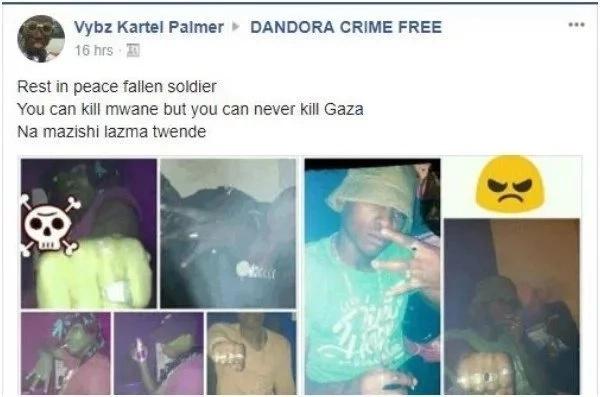 Mwanachama wa Gaza amwonya Hessy wa Kayole baada ya Mwanii kuuawa