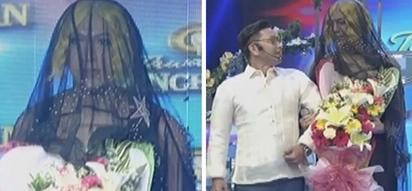 "Si Vice naman daw ikakasal! Vice Ganda is bride in black, ""Ivy Agnas"" on It's Showtime"