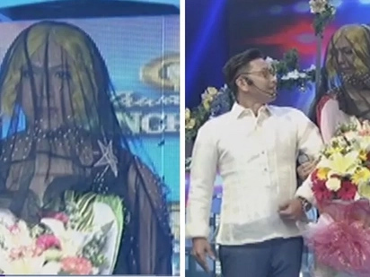 "Si Vice naman daw ikakasal! Vice Ganda is bride in black, ""Ivy Agnas"" on It's Showtime"