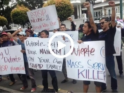 May nakikisali pa! Indonesian drug users lambaste Duterte's drug armageddon campaign