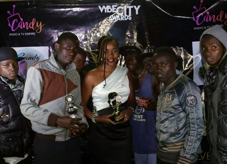 Photos of the girl who won the face of Eldoret at Vybe City Awards