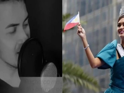 Wow grabeh ang galing ni Kuya! Pinoy shares message of love and admiration in a song he composed for Miss Universe Pia Wurtzbach