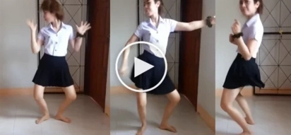 A girl became popular after her dancing video went viral