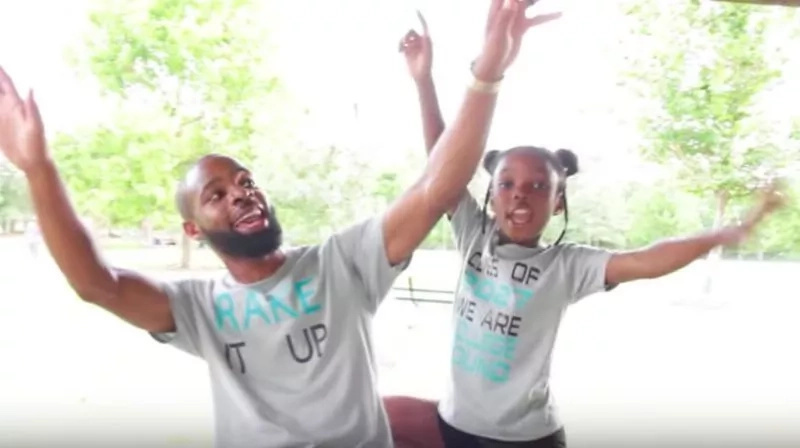 Extremely talented dad and daughter release Hip Hop remix to encourage students during their new term