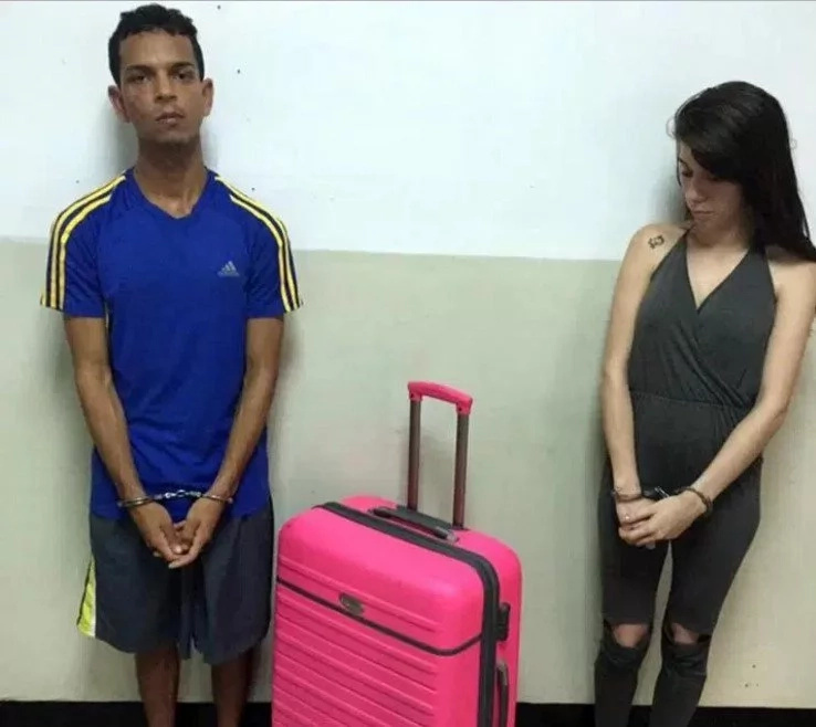 Woman Caught Red-handed While Trying To Smuggle Her Lover Out Of Jail In SUITCASE (photos)