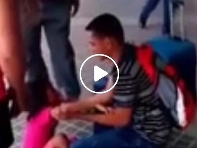 Nakakaiyak naman 'to! 5-year-old daughter weeps hysterically over departure of OFW dad