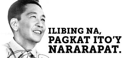Marcos loyalists demand 1M signatures to bury him at the Libingan