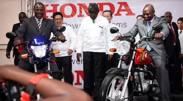 Motorbike dealers in Kenya