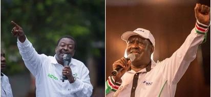 War of words escalate between ODM, Mudavadi over Raila deal with Uhuru