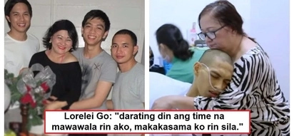 Pinakamasakit na karanasan: Lorelei Go's heartbreaking interview about losing her 3 sons to liver cancer goes viral