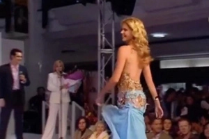 Model's Dress Ripped Off — And What Happened After Is OMG (Video)