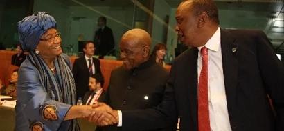 Uhuru Welcomes Another President In Kenya For One-Week Visit