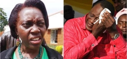 Martha Karua responds to claims that she told Uhuru Kenyatta to go work under a TREE