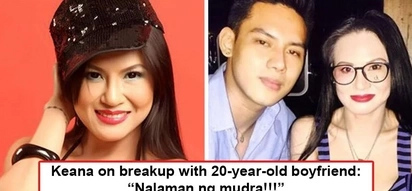 Nagalit si momshie ni boyfie! Keanna Reeves confesses reason behind breakup with 20-year-old college boyfriend