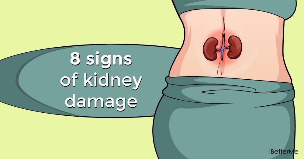 8 warning signs of kidney damage