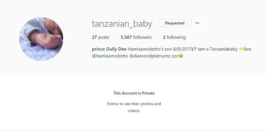 Diamond Platnumz finally accepts his baby with Hamisa