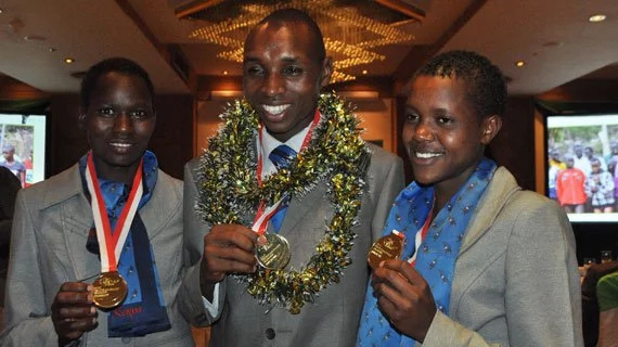 Faith Chepng'etich sets sights on Olympic gold