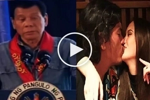 Duterte curses Baste for falling in love with Ellen Adarna and for not spending enough time with his child