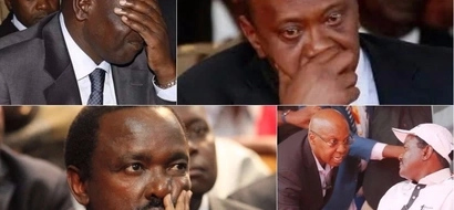The weird comment that made Uhuru, Ruto and Jimmy Wanjigi storm out of Kalonzo Musyoka's house