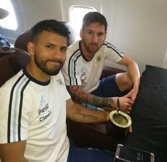 El enfado de Messi