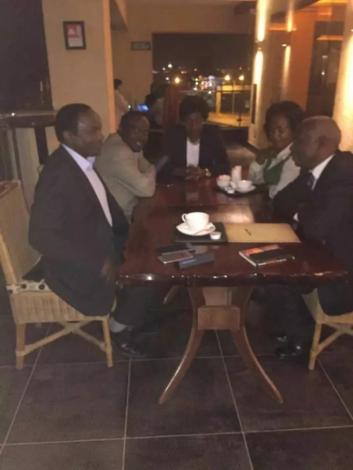 Kalonzo in night meeting with rivals