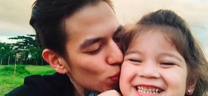 Nagkatagpo na rin! Jake Ejercito's daughter finally meets her grandparents