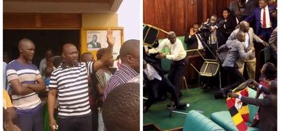 Ugandan legislator narrowly escapes mob justice over the controversial age limit vote