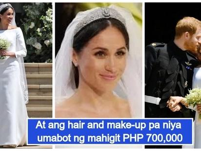 Simple pero milyon ang halaga! Gown ni Meghan Markle tumataginting na 22 milyon pesos