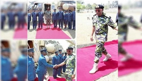 Sonko in trouble with KDF for photoshopping Uhuru's photos
