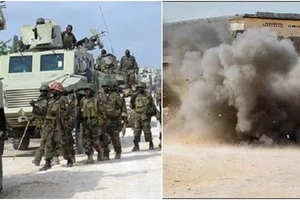 KDF soldiers thwart major al-Shabaab attack on base