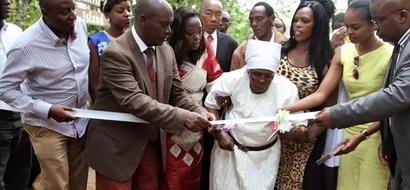 PHOTOS: Dedan Kimathi Wife Opens Key Historic Site On Saba Saba Eve