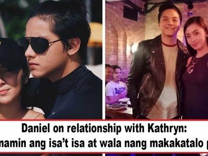 'Di si ate girl lang makasisira ng relasyon nila! Daniel Padilla declares love for Kathryn Bernardo, says relationship got stronger amid controversies