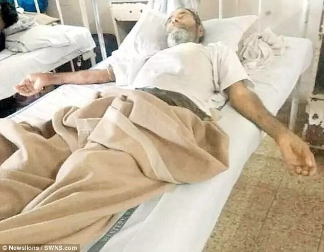 Baffled doctors extract 150 pins from man's body including his artery and wind pipe