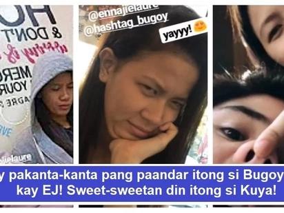 """Haba ng hair ni ate! Viral video of Bugoy Cariño singing """"Hayaan Mo Sila"""" to Ej Laure"""