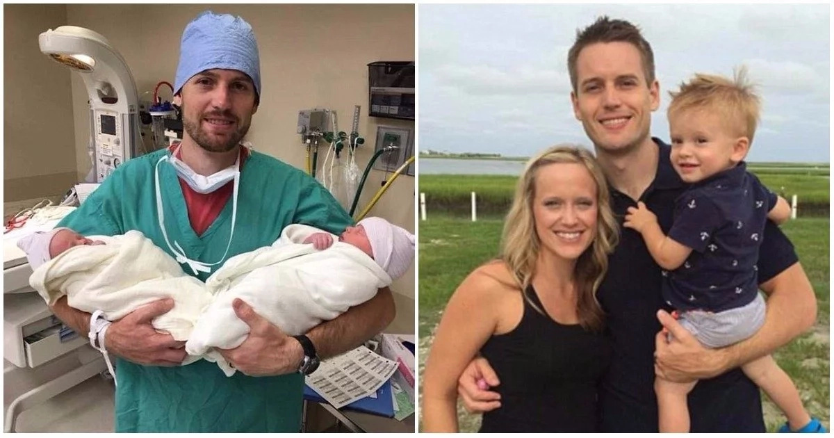 Awesome! Couple welcome twin boys 2 years after losing 2 sons in an accident (photos)
